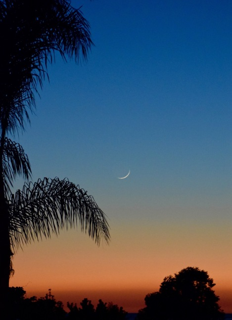 Sun and Moon set