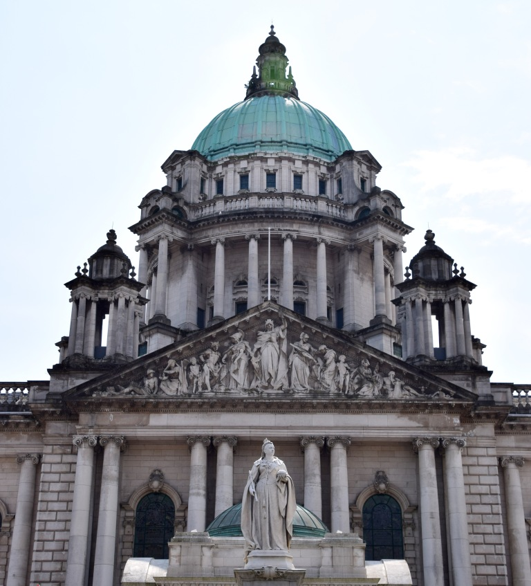 Belfast City Hall front half of bulding