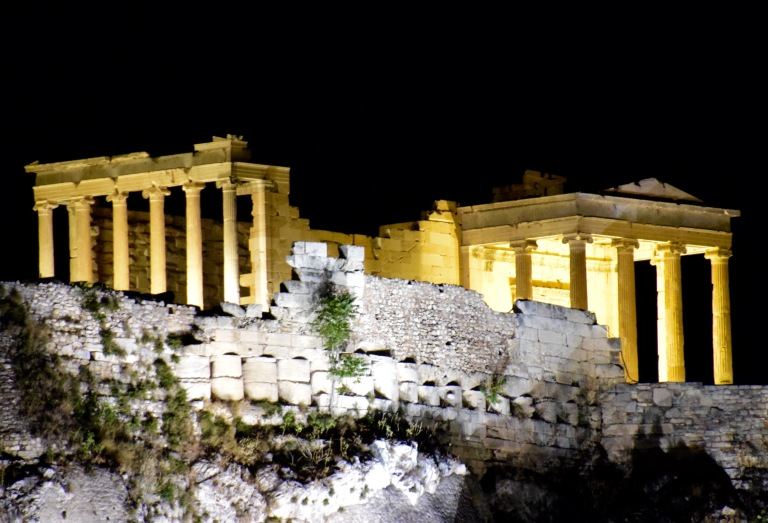 Acropolis view at Night