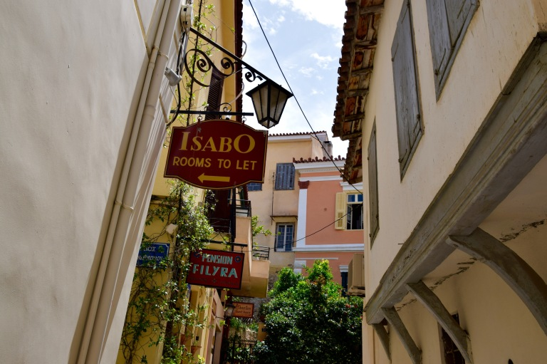 View of Old Town Nafplio