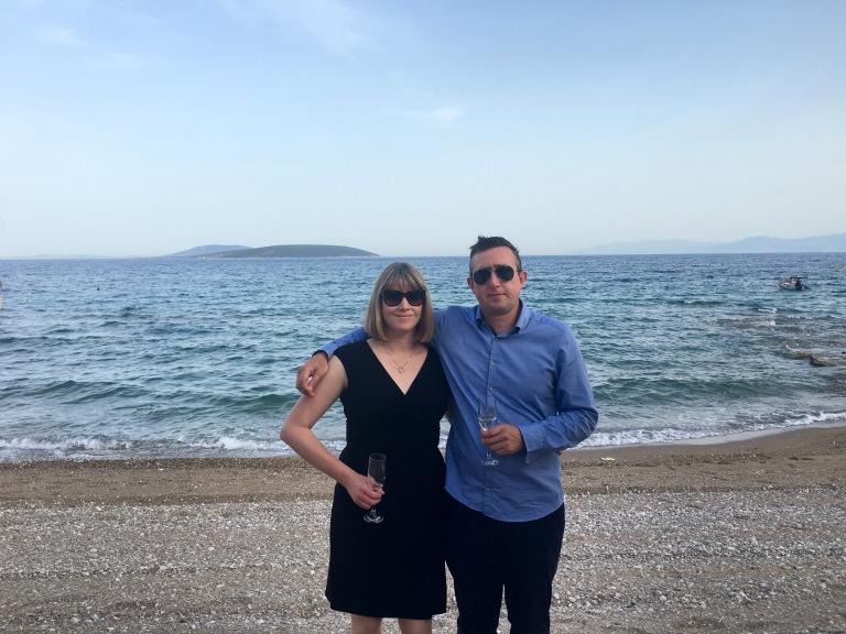 Shannon and Stephen Montague Greek Wedding 2016